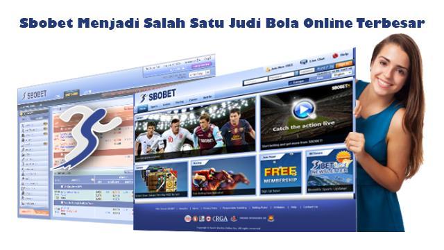 sbobet menjadi salah satu judi bola online terbesar