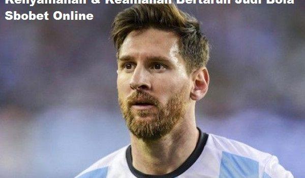 Kenyamanan & Keamanan Bertaruh Judi Bola Sbobet Online