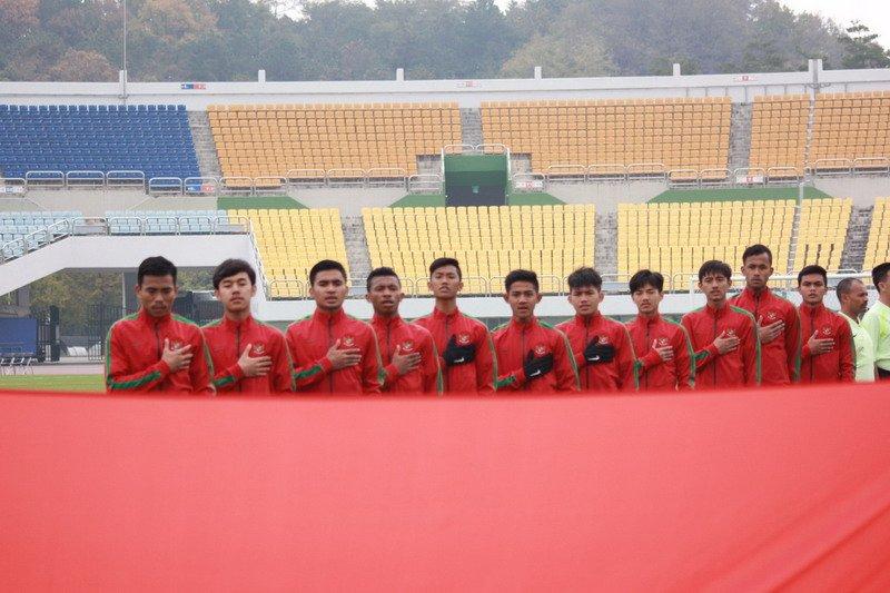 Timnas merubah susunan pemain U-19 dengan 6 perubahan di daftar starter saat melawan Ma